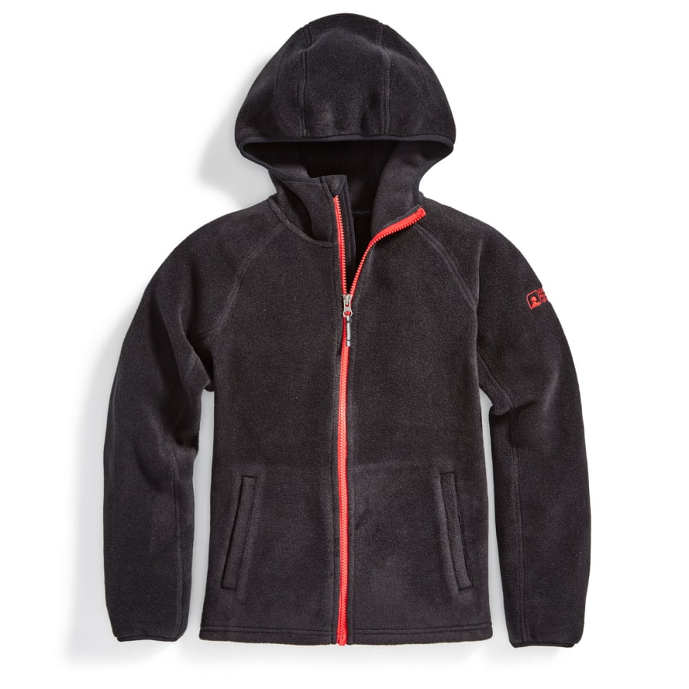 EMS® Boys' Classic 200 Fleece Hoodie - BLACK