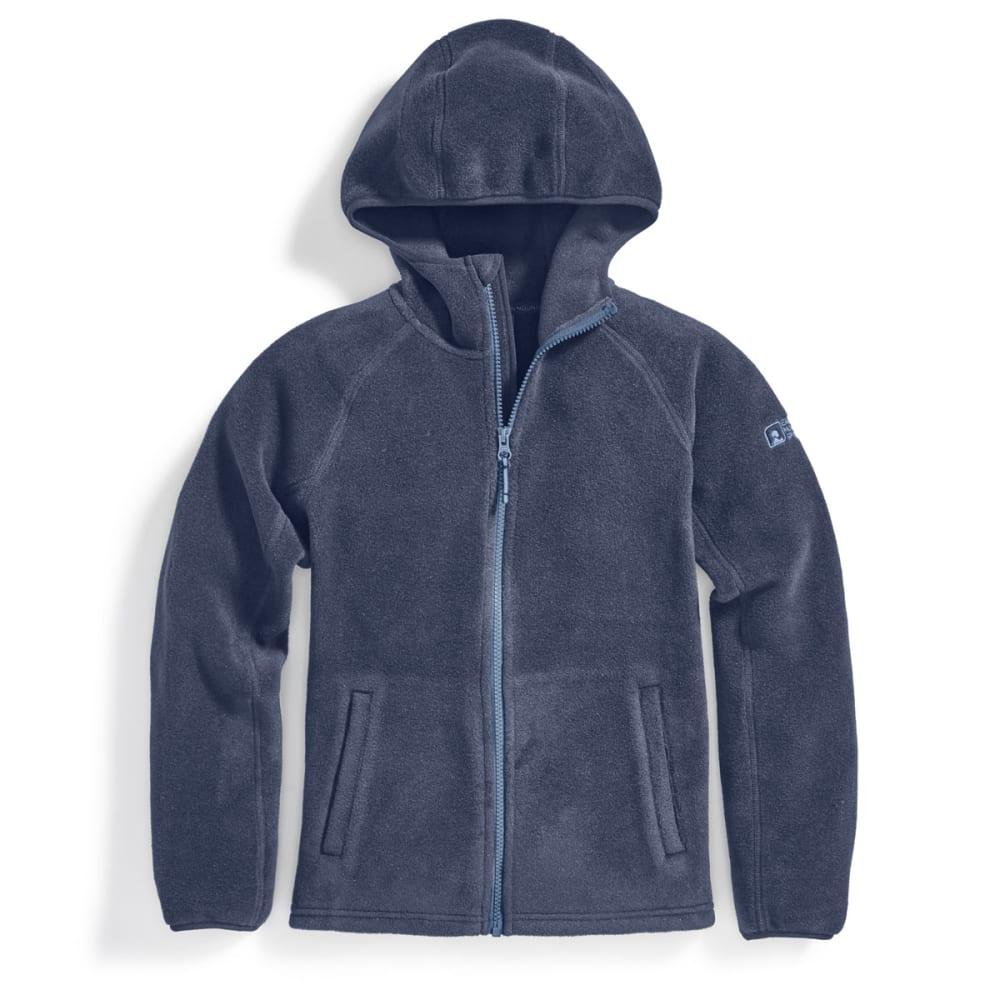 EMS Boys' Classic 200 Fleece Hoodie - BLUE NIGHTS