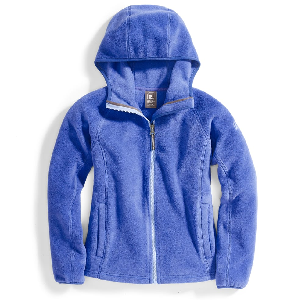 EMS Girls' Classic 200 Fleece Hoodie - DEEP ULTRAMARINE