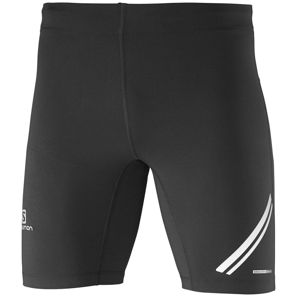 SALOMON Men's Agile Short Running Tights - 100-BLACK