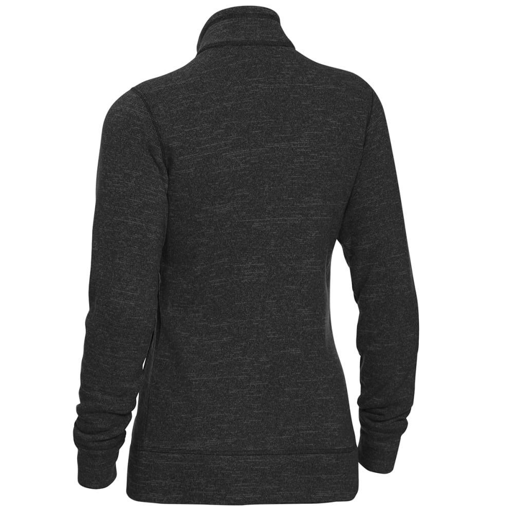 EMS Women's Roundtrip Trek Full-Zip Fleece Jacket - PHANTOM HEATHER