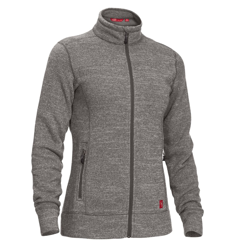 EMS Women's Roundtrip Trek Full-Zip Fleece Jacket - CASTLEROCK HEATHER