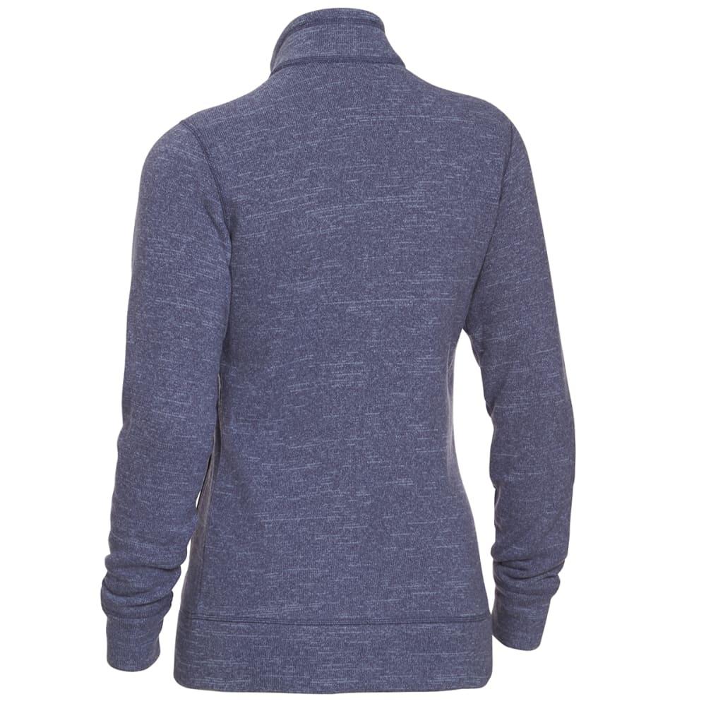 EMS Women's Roundtrip Trek Full-Zip Fleece Jacket - VINTAGE INDIGO HTR