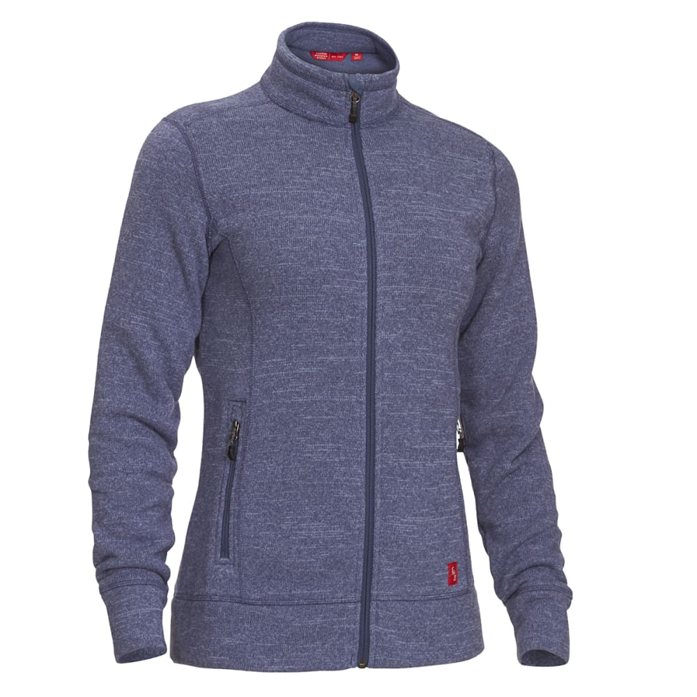 EMS Women's Roundtrip Trek Full-Zip Fleece Jacket - VINTAGE INDIGO HTR