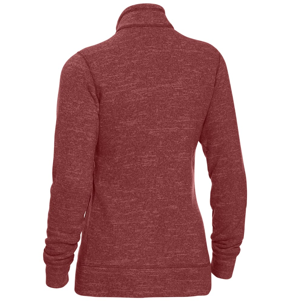 EMS Women's Roundtrip Trek Full-Zip Fleece Jacket - APPLE BUTTER HTR
