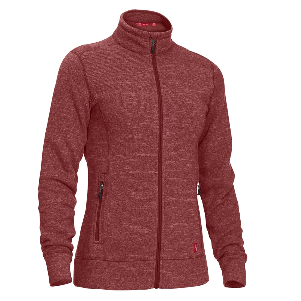 EMS Women's Roundtrip Trek Full-Zip Fleece Jacket - APPLE BUTTER HTR