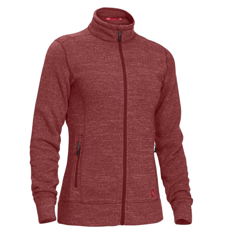 EMS Women's Roundtrip Trek Full-Zip Fleece Jacket - Black - Size XS F17W0218