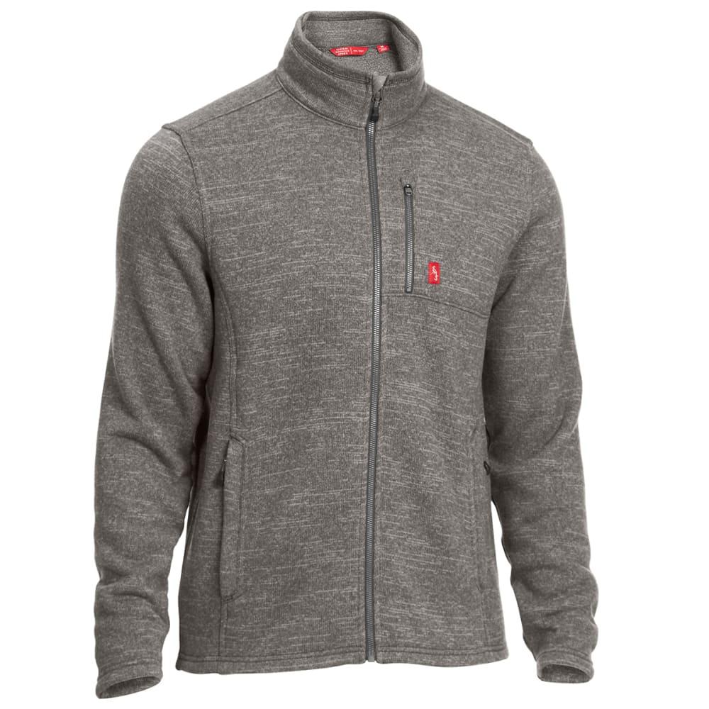 EMS Men's Roundtrip Trek Full-Zip Fleece Jacket - Black - Size XXL F17M0513