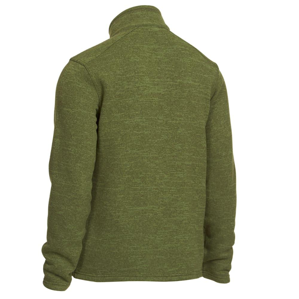 EMS Men's Roundtrip Trek Full-Zip Fleece Jacket - BRONZE GREEN HEATHER