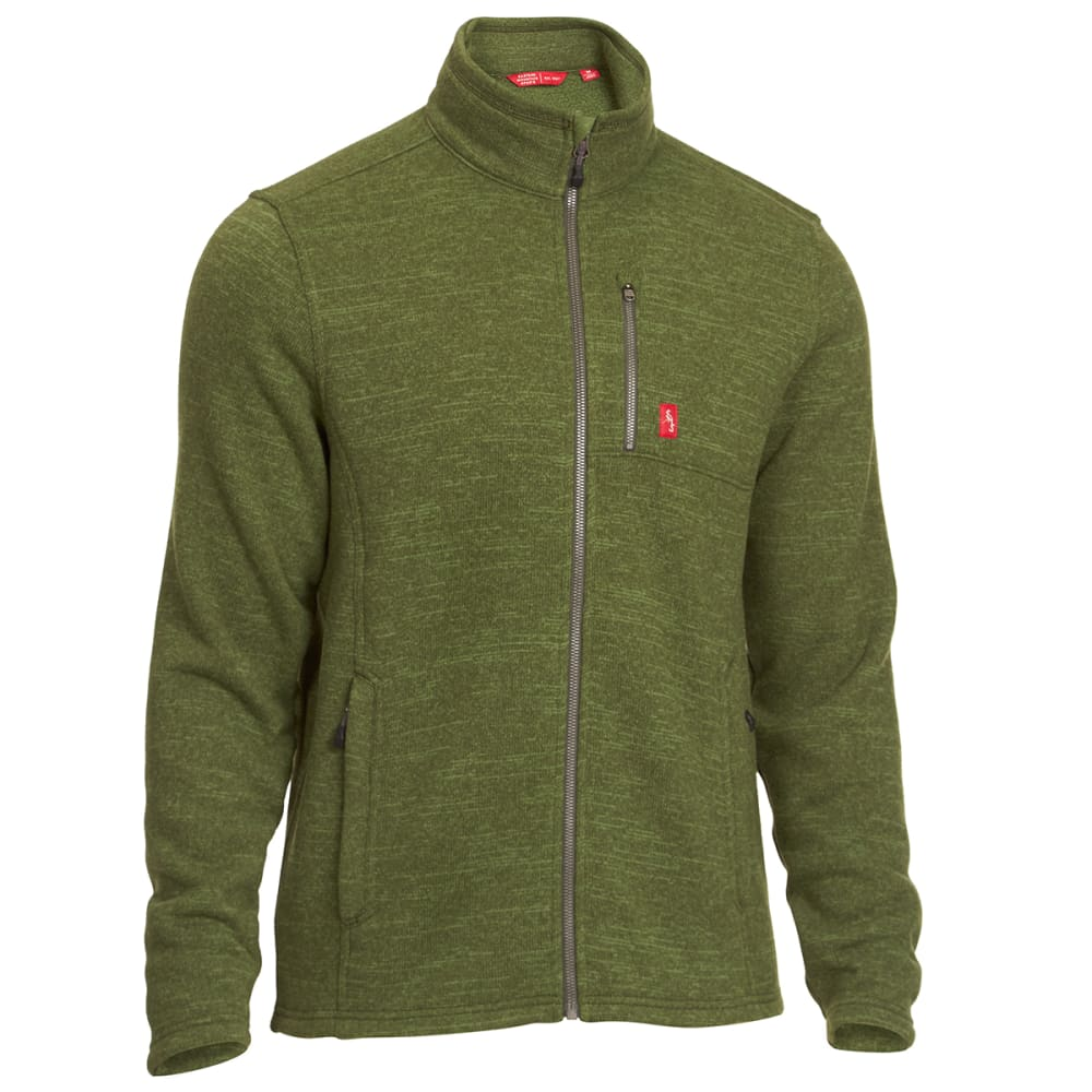 EMS® Men's Roundtrip Trek Full-Zip Fleece Jacket - BRONZE GREEN HEATHER
