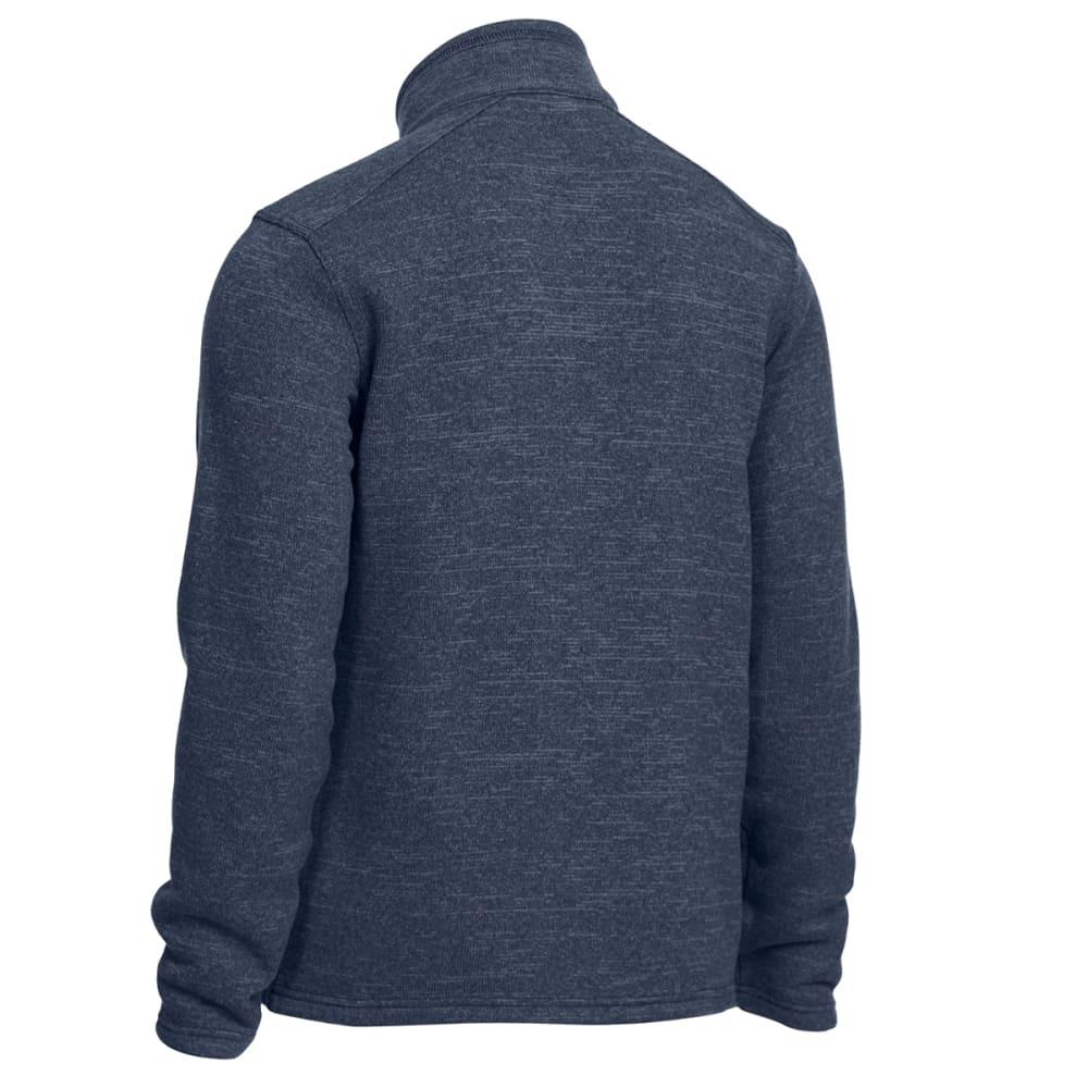 EMS Men's Roundtrip Trek Full-Zip Fleece Jacket - MIDNIGHT NAVY HEATHR