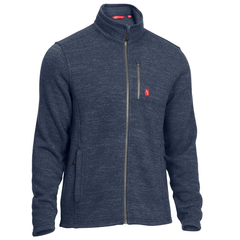 EMS® Men's Roundtrip Trek Full-Zip Fleece Jacket - MIDNIGHT NAVY HEATHR