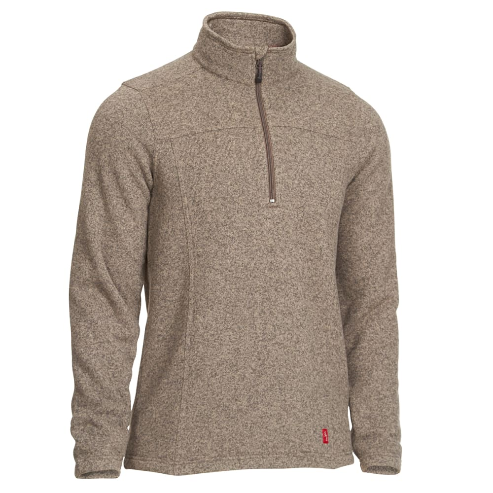 EMS® Men's Roundtrip ¼-Zip Pullover - WALNUT HEATHER