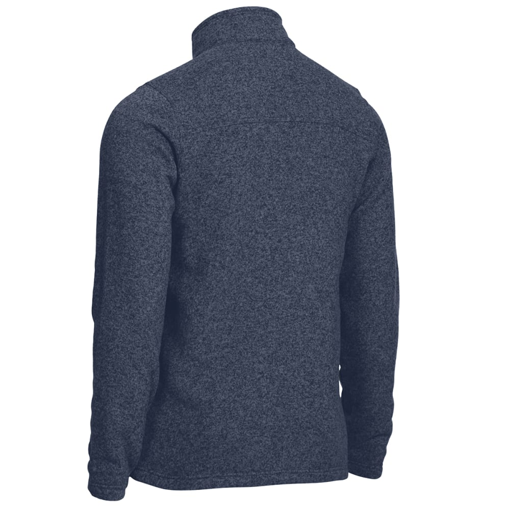 EMS Men's Roundtrip ¼-Zip Pullover - NAVY BLAZER HEATHER