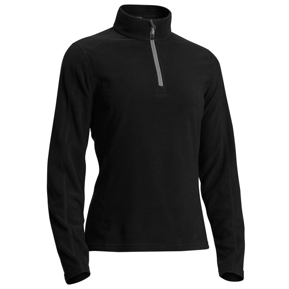EMS Women's Classic Micro Fleece ¼-Zip - BLACK