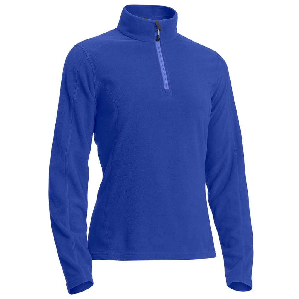 EMS Women's Classic Micro Fleece ¼-Zip - DEEP ULTRAMARINE
