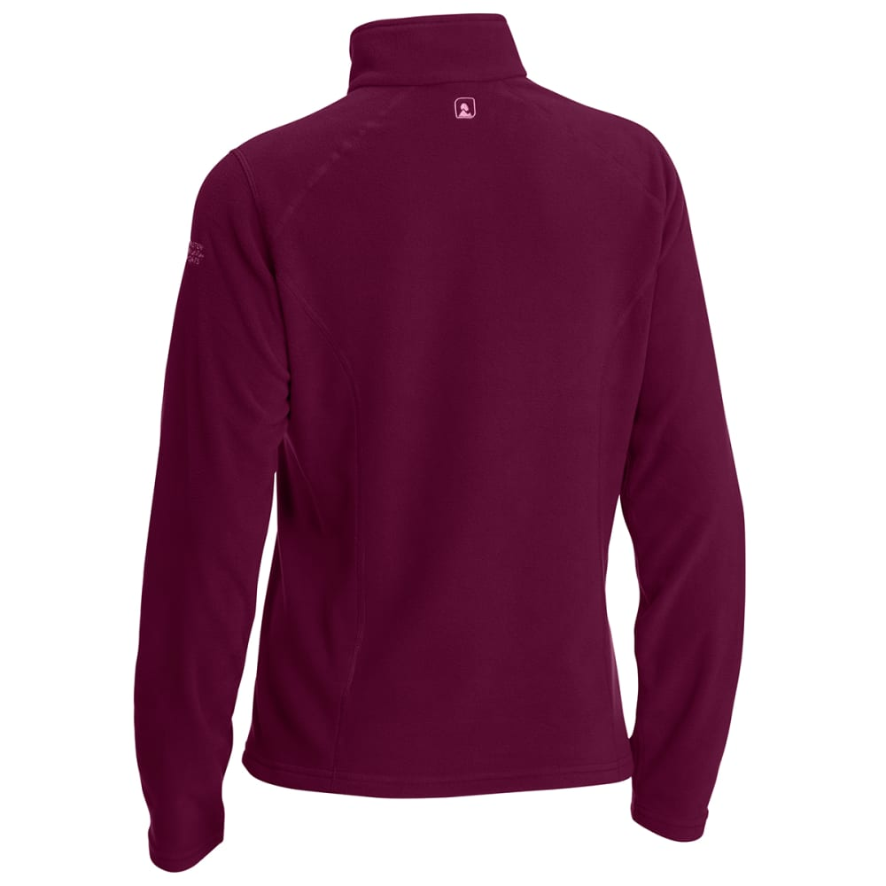 EMS Women's Classic Micro Fleece ¼-Zip - PICKLED BEET