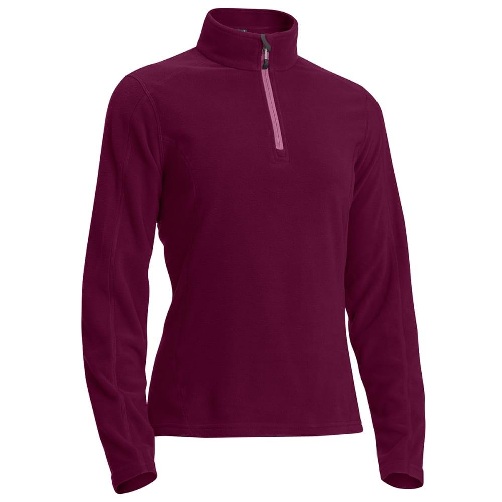 EMS Women's Classic Micro Fleece Quarter Zip - PICKLED BEET