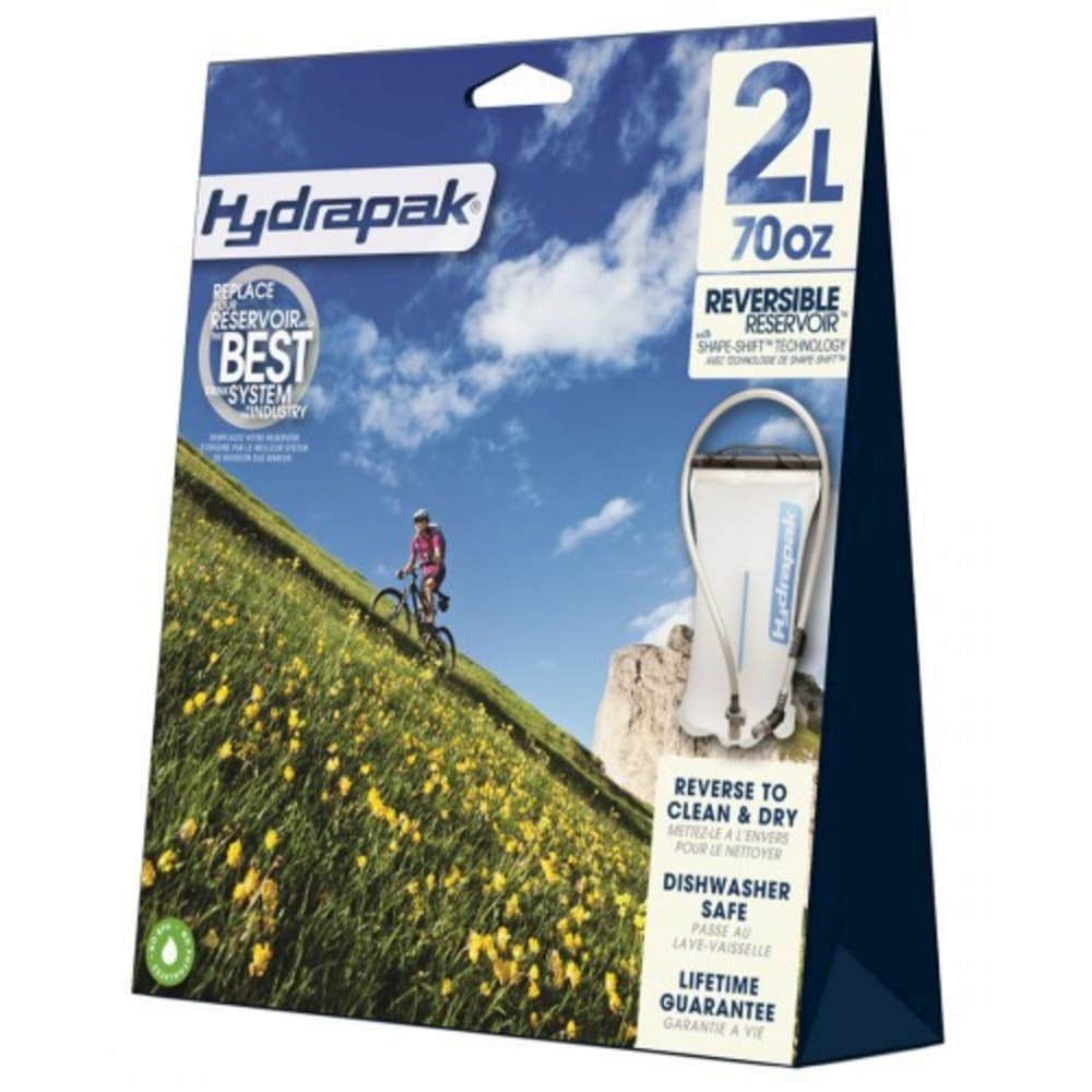 HYDRAPAK 2L Shape-Shift Reservoir - CLEAR