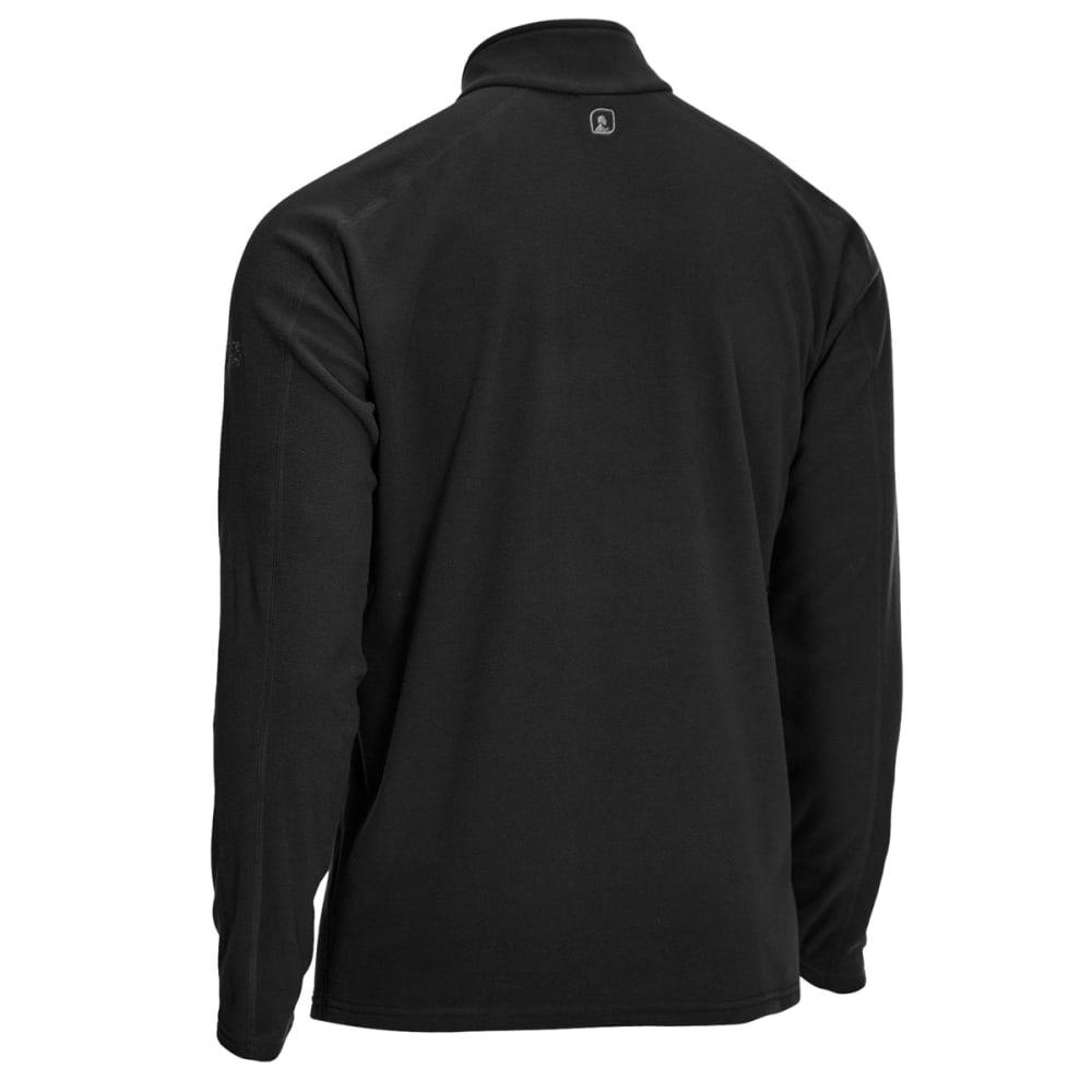 EMS Men's Classic Micro Fleece Quarter Zip - BLACK