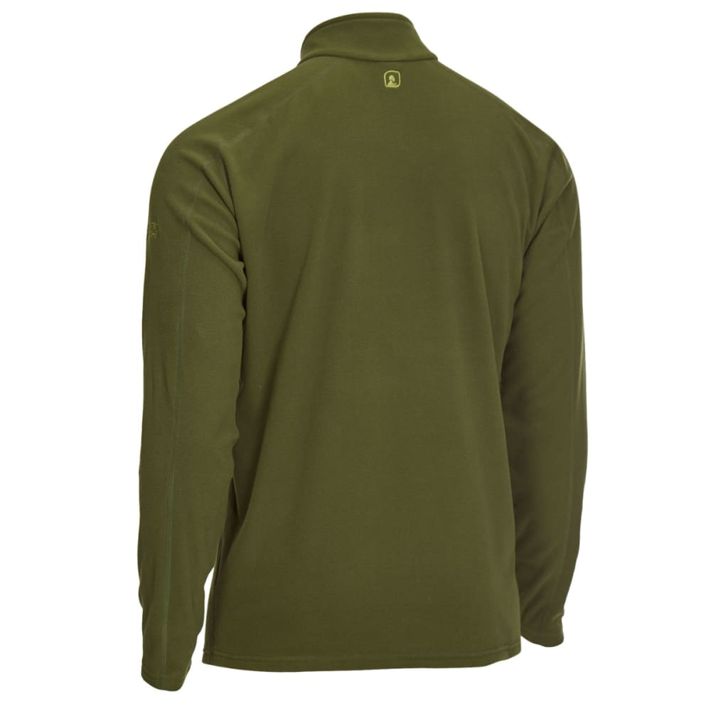 EMS Men's Classic Micro Fleece Quarter Zip - RIFLE GREEN