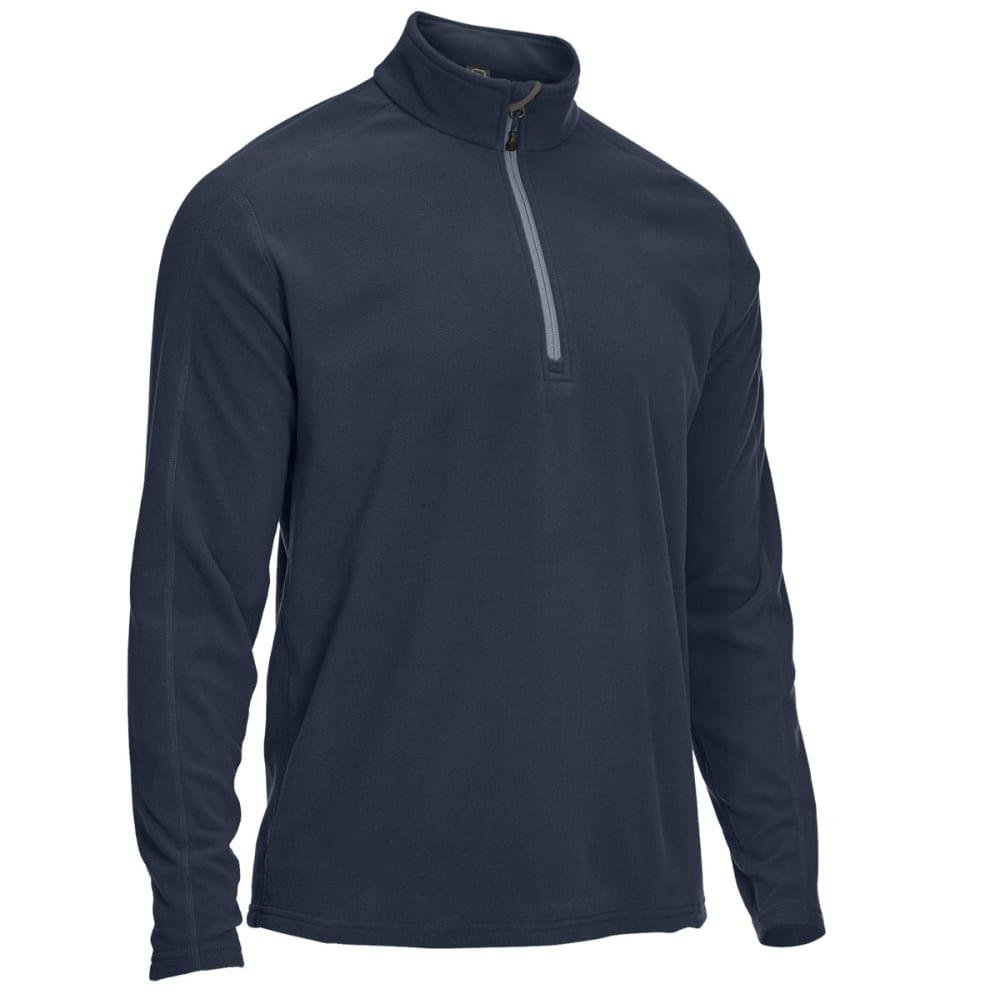 EMS Men's Classic Micro Fleece Quarter Zip - BLUE NIGHTS