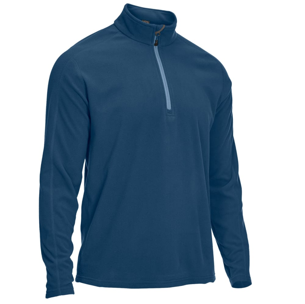 EMS Men's Classic Micro Fleece Quarter Zip - ENSIGN BLUE