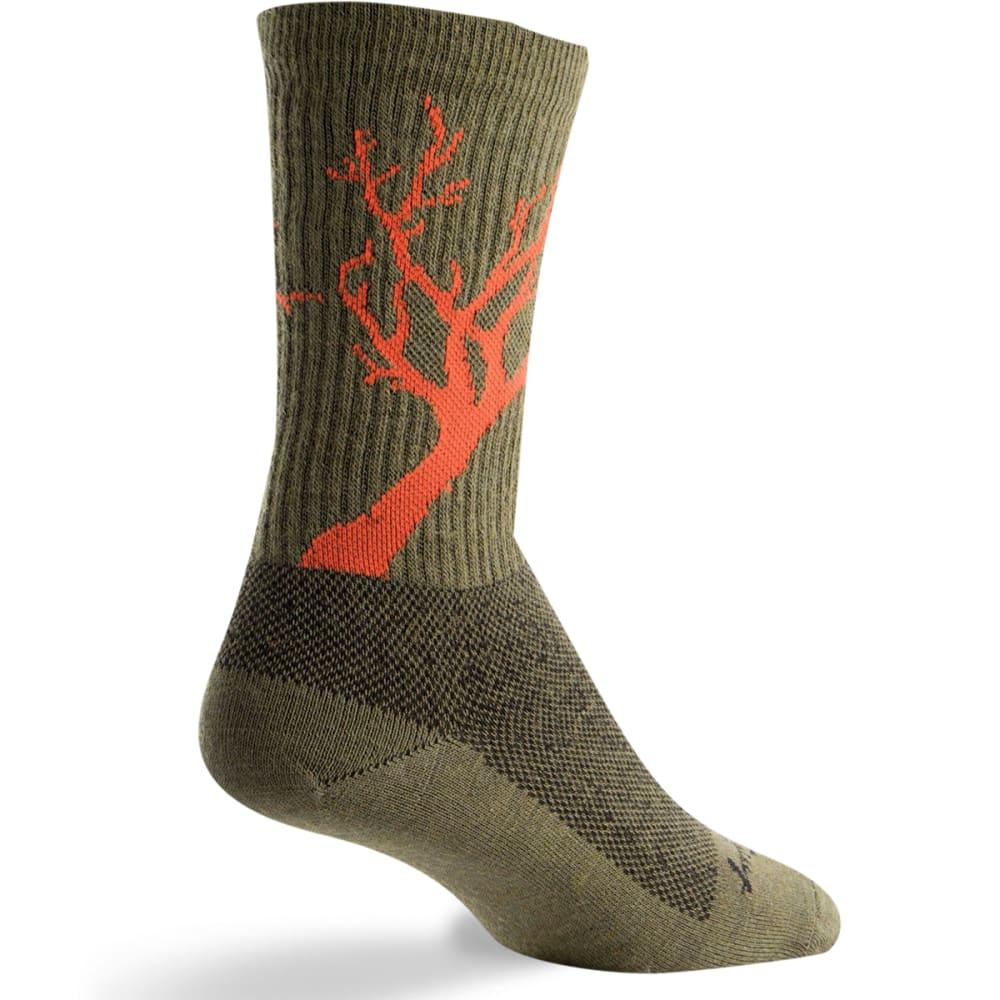 SOCK GUY Deadwood Wool Socks - DEADWOOD
