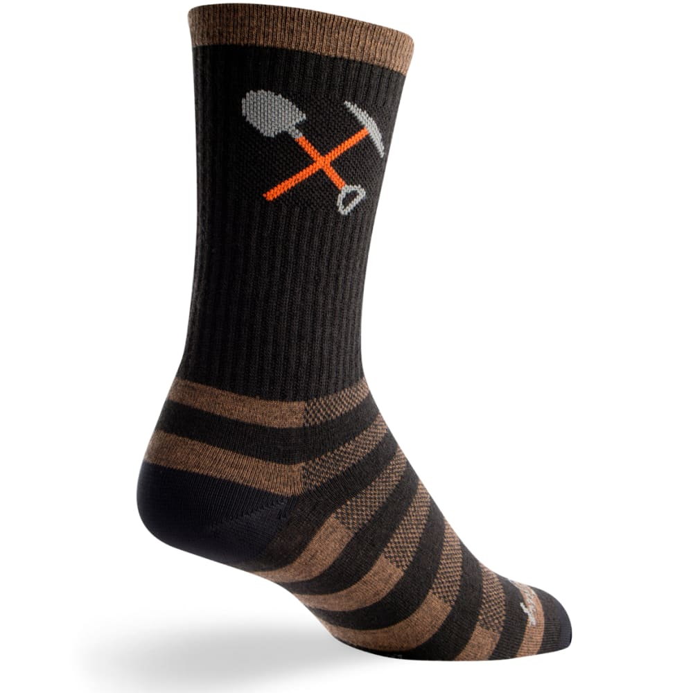 SOCK GUY Trail Maint Wool Socks - TRAIL WORK