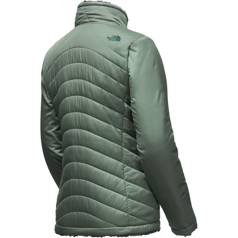 THE NORTH FACE Women's Mossbud Swirl Reversible Jacket - HZZ-BALSAM GRN/DRK S