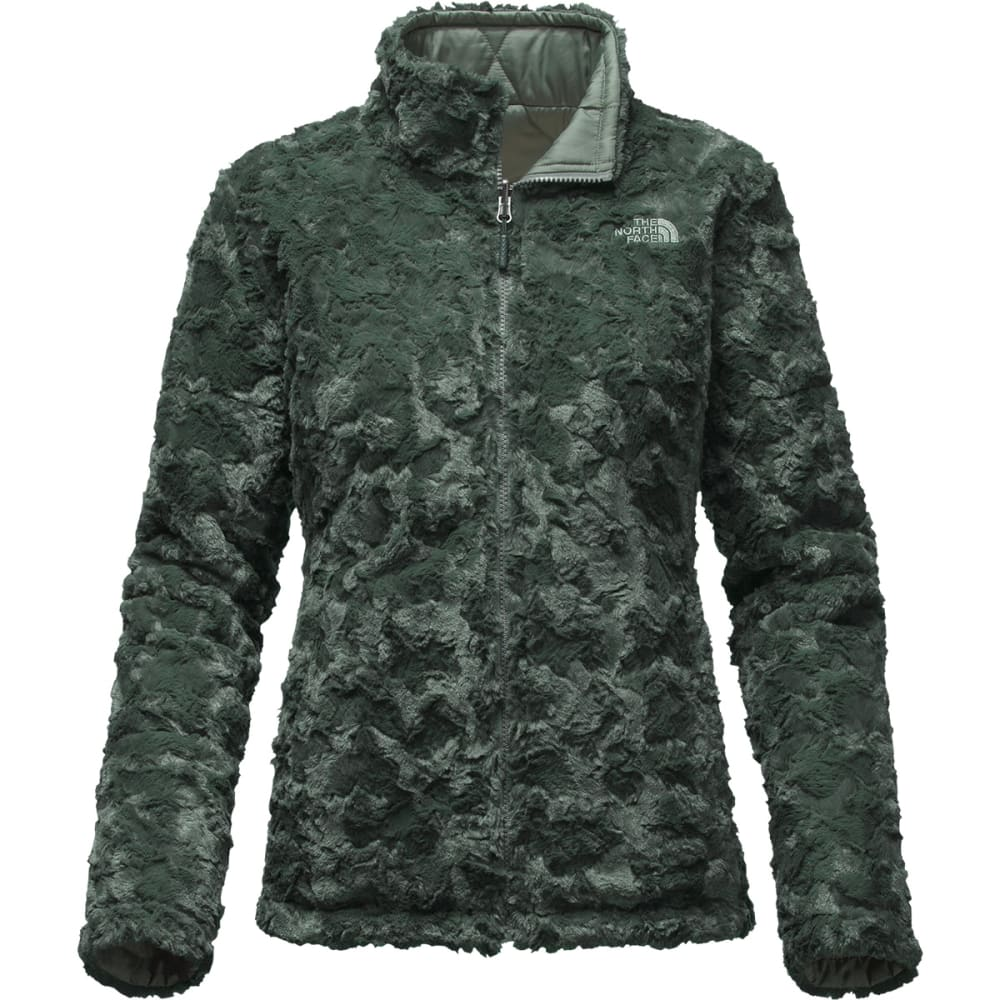 THE NORTH FACE Women's Mossbud Swirl Reversible Jacket - HZZ-BALSAM GRN/DRK S