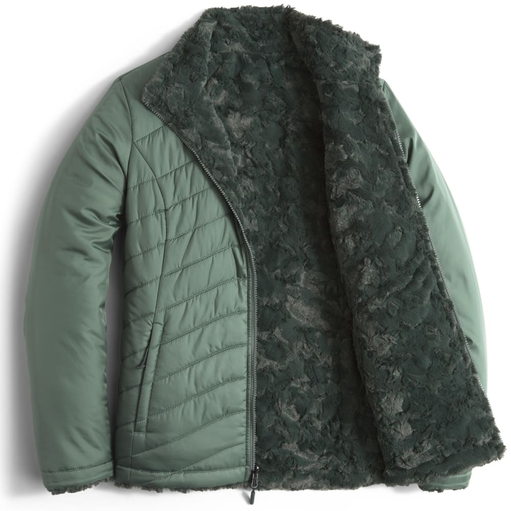 c70af1d6a712 THE NORTH FACE Women  39 s Mossbud Swirl Reversible Jacket - HZZ-BALSAM