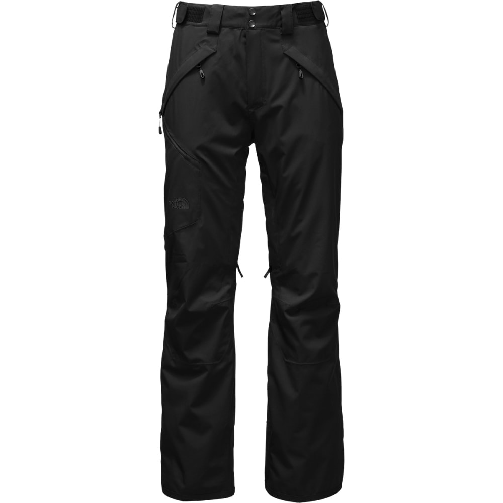 THE NORTH FACE Men's Powdance Regular Length Ski Pants - JK3-TNF BLACK