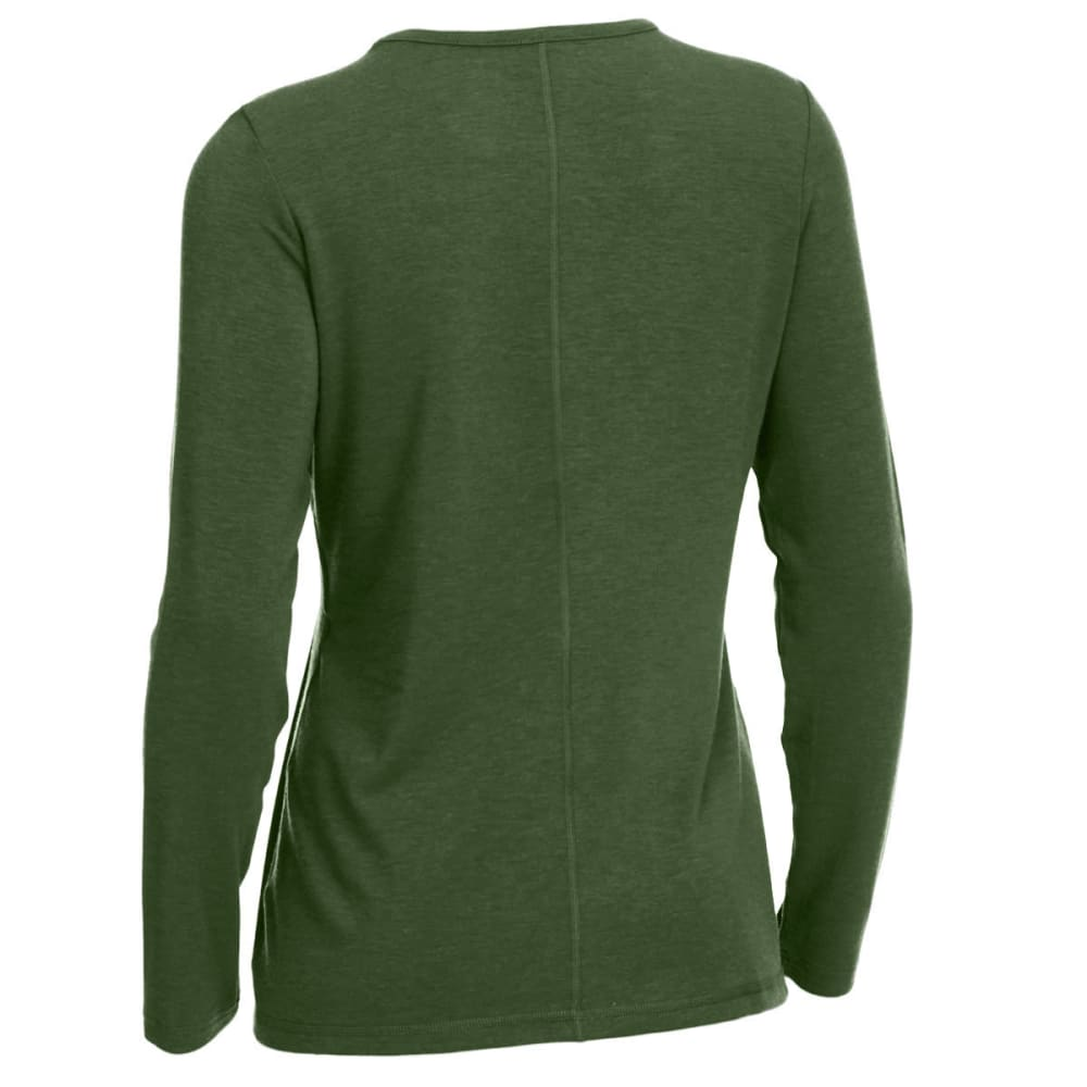 EMS® Women's Techwick® Journey Long-Sleeve Top - BRONZE GREEN HEATHER