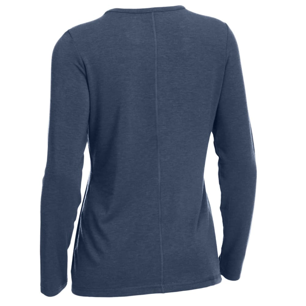 EMS Women's Techwick Journey Long-Sleeve Top - VINTAGE INDIGO HTR