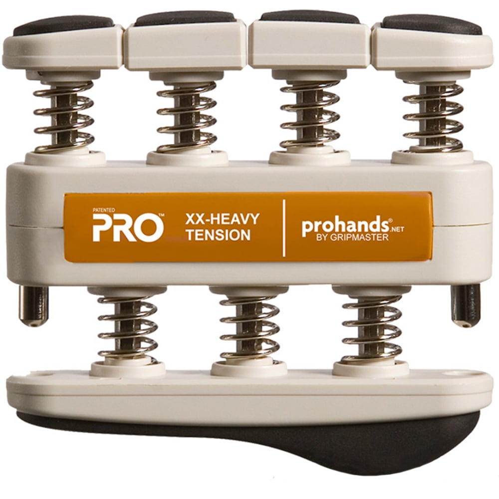 GRIPMASTER Pro Edition Grip Strengthener, XX-Heavy - NO COLOR