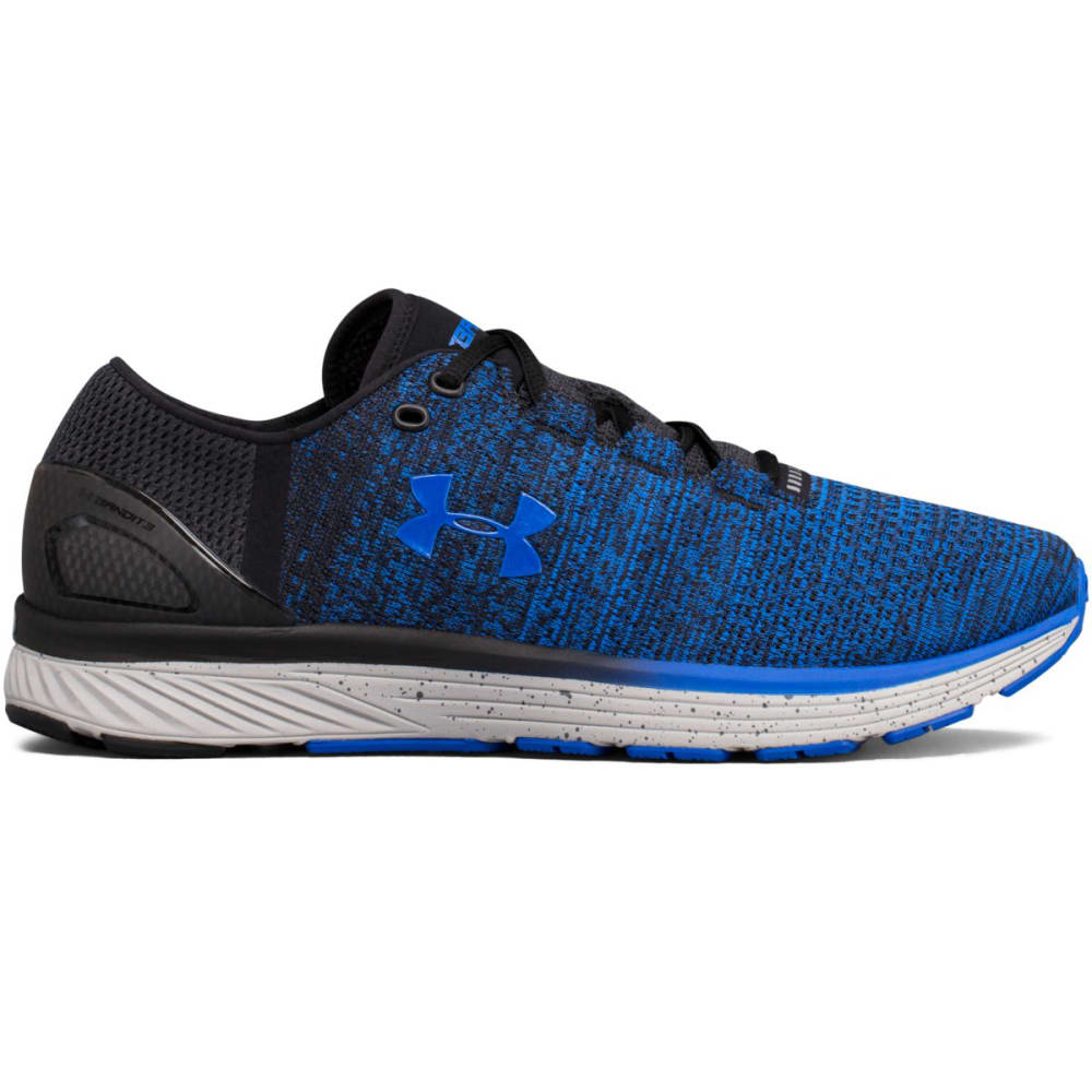 Under Armour Men's Charged Bandit 3 Running Shoes, Ultra Blue/black - Blue 1295725-907