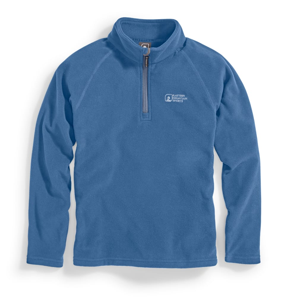 EMS Boys' Classic Micro Fleece ¼-Zip - ENSIGN BLUE
