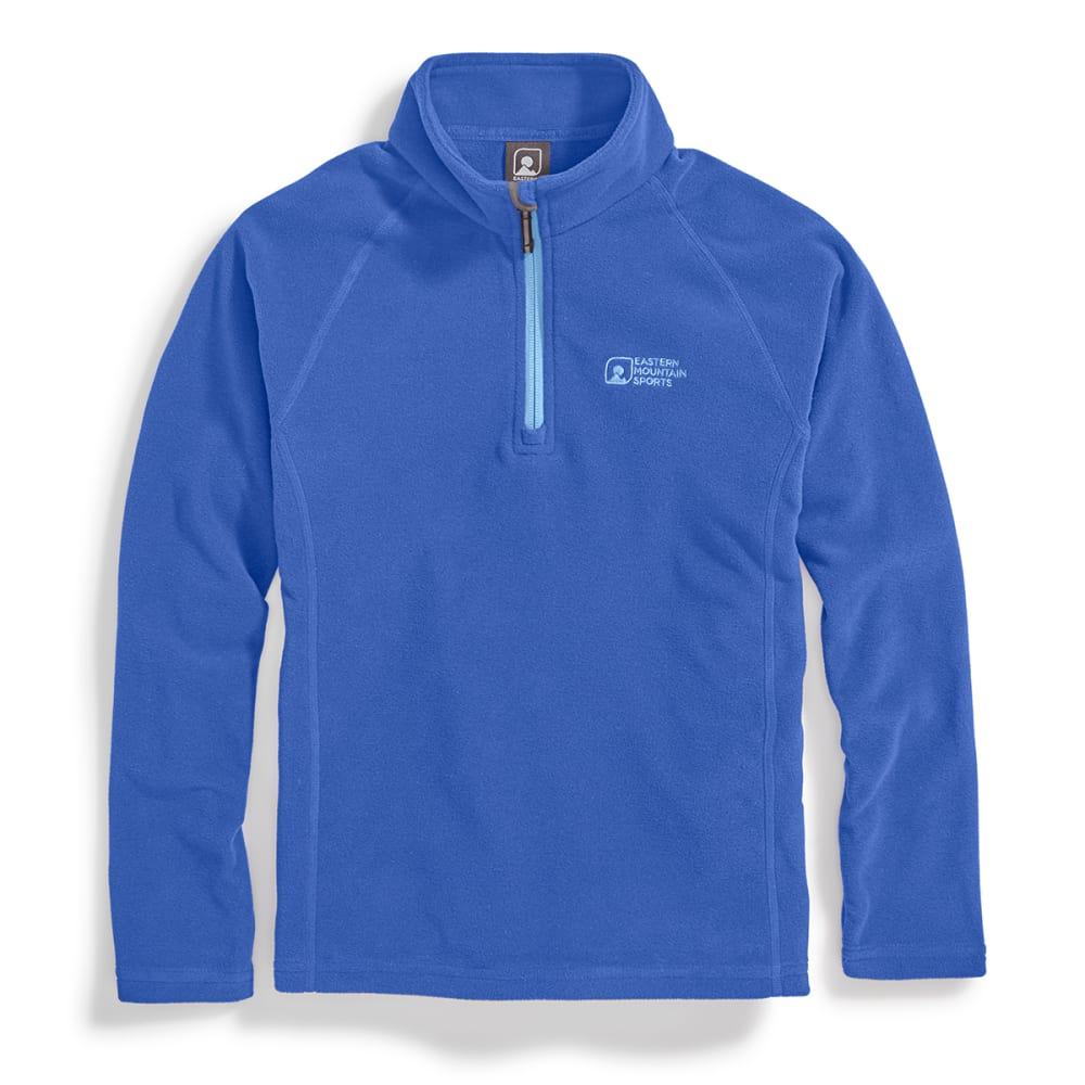 EMS® Girls' Classic Micro Fleece ¼-Zip - DEEP ULTRAMARINE