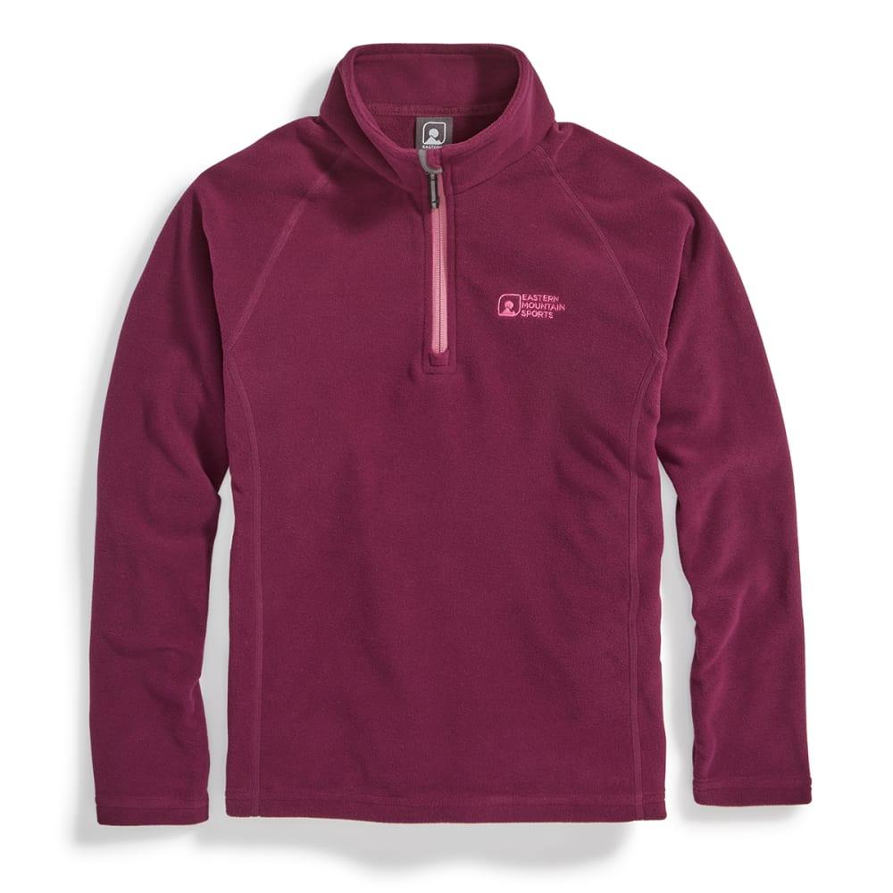 EMS Girls Classic Micro Fleece ¼-Zip - Purple - Size L F17G0703