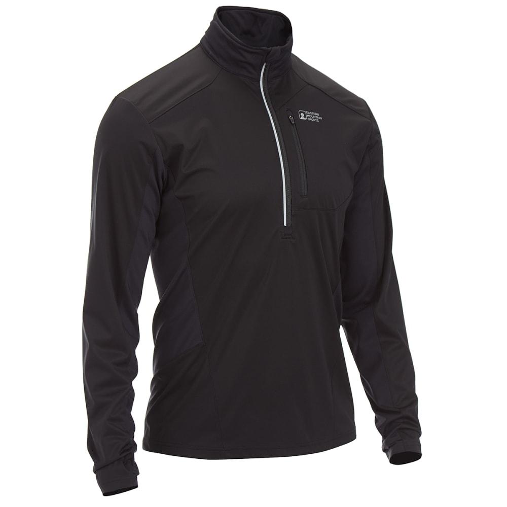 EMS Men's Techwick Crosswind 1/2-Zip Pullover - BLACK