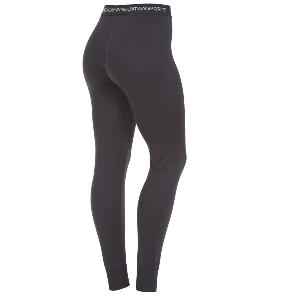 EMS Women's Techwick Lightweight Base Layer Bottoms - BLACK