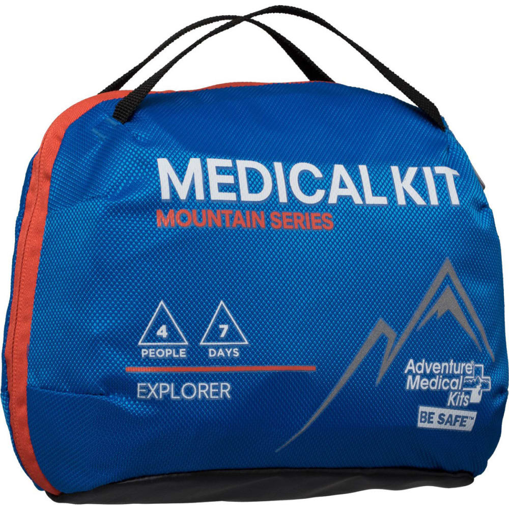 AMK Mountain Explorer First Aid Kit - BLUE