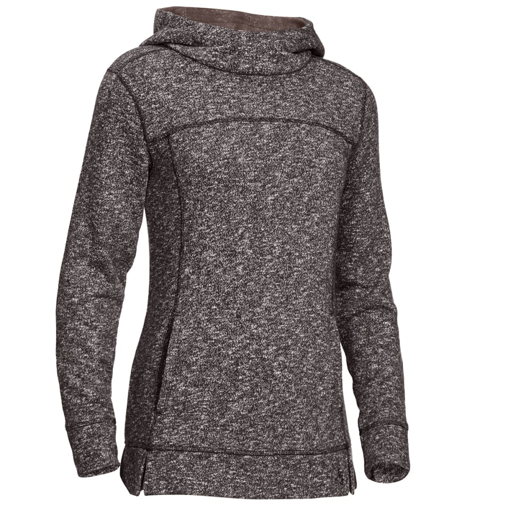 EMS Women's Tousle Pullover Hoodie - PHANTOM HEATHER