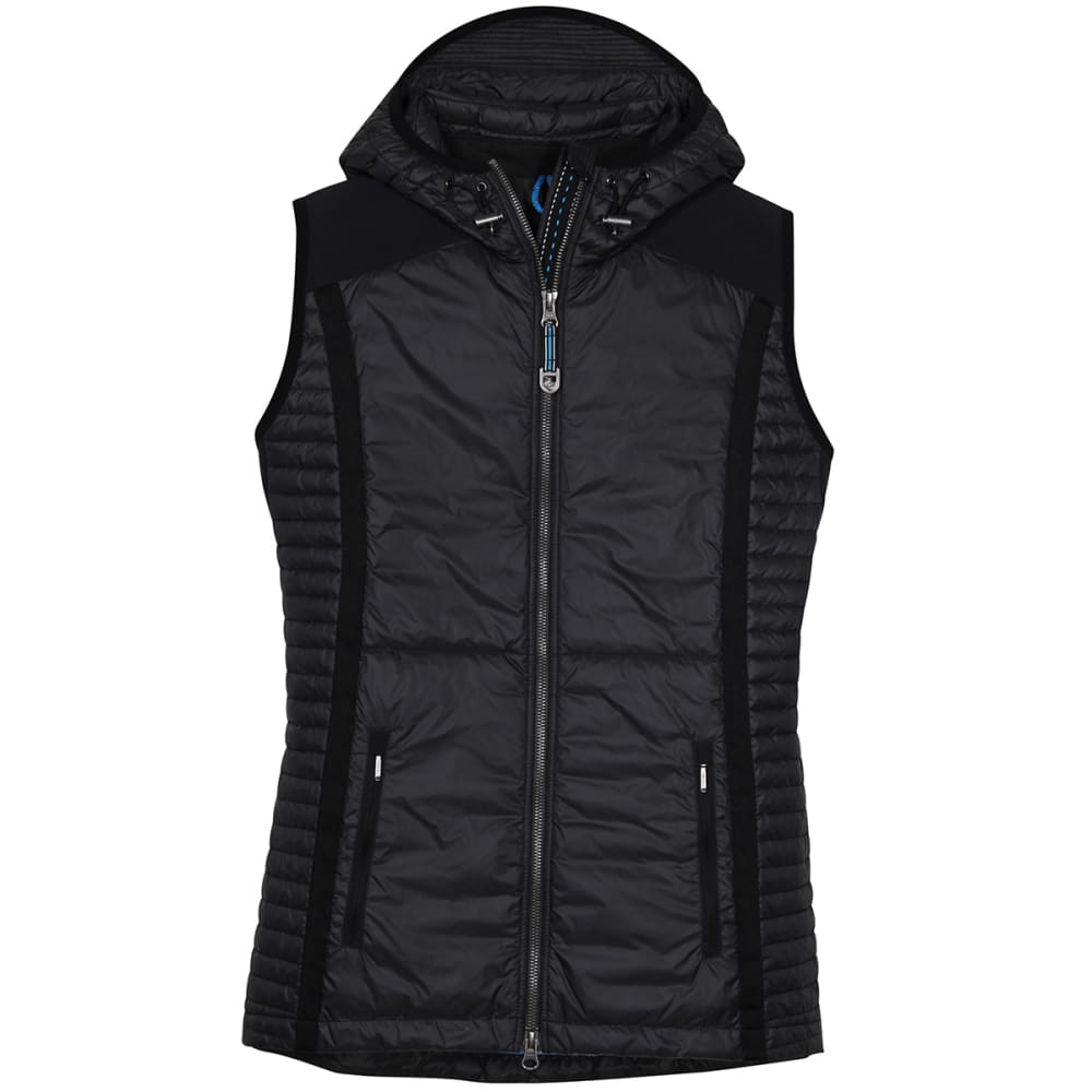 KUHL Women's Spyfire Hooded Vest - RAVEN