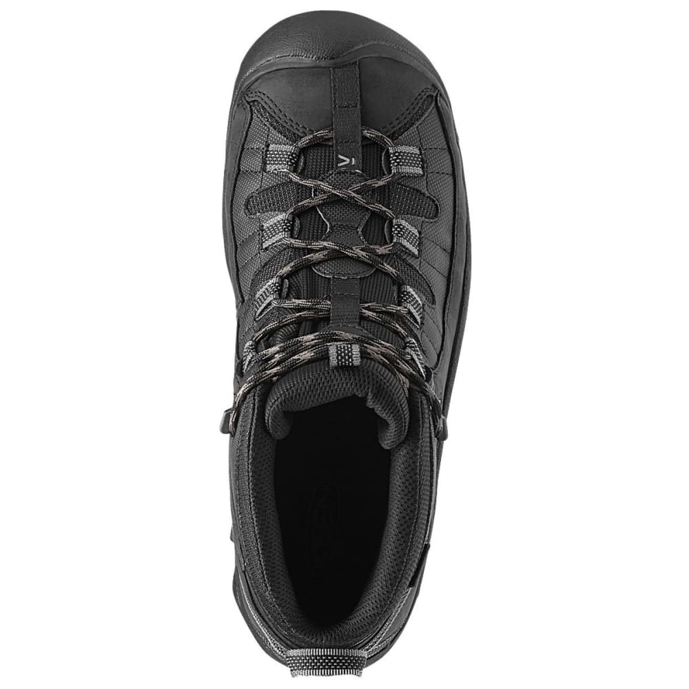 KEEN Men's Targhee II - TAC Hiking Boots - BLACK