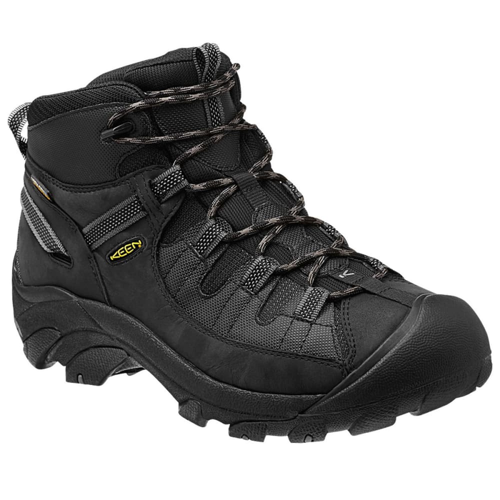 KEEN Men's Targhee II - TAC Hiking Boots - BLACK
