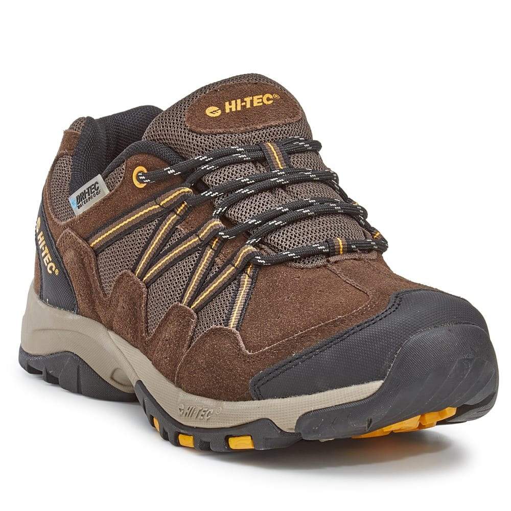 HI-TEC Men's Dexter Low Waterproof Hiking Shoes - CHOCOLATE