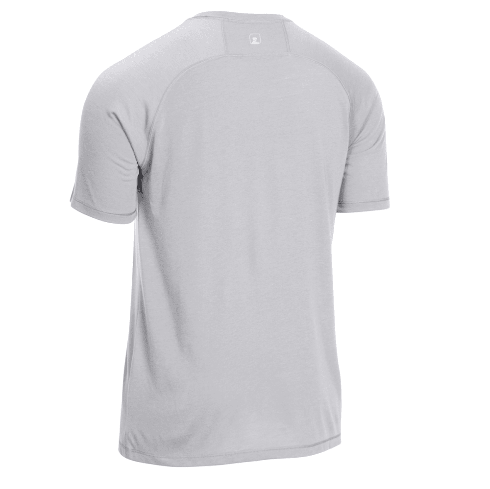 EMS® Men's Techwick® Vital Discovery Short-Sleeve Tee - NEUTRAL GREY HEATHER