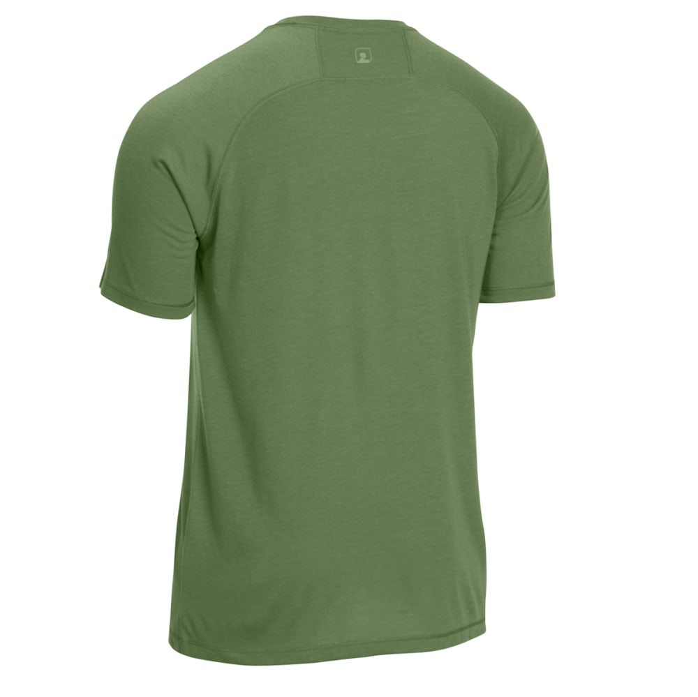 EMS® Men's Techwick® Vital Discovery Short-Sleeve Tee - BRONZE GREEN